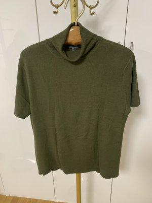 Koszulka z golfem oliwkowy