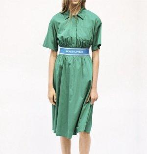 Grünes SANDRO Kleid