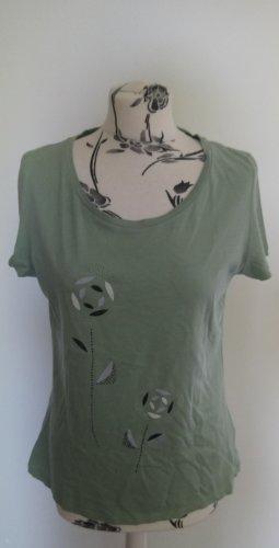 Grünes Shirt mit Print Armedangels XL