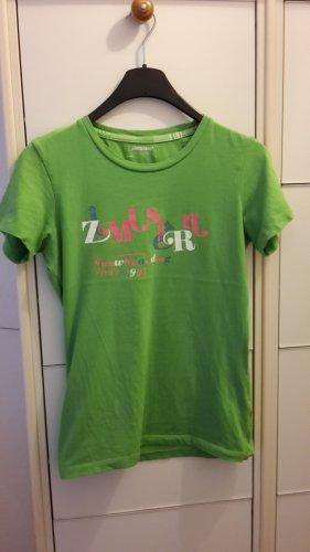 grünes Shirt von Zimtstern
