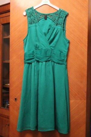 Vero Moda Chiffon Dress green polyester