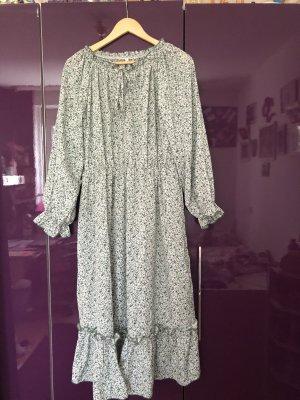 SheIn Maxi Dress lime-green-white