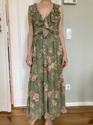 Grünes Sommerkleid Zara neu mit Etikett