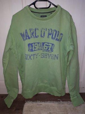 grünes Sweatshirt