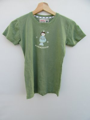 grünes T-Shirt Damen Adelheid Eisprinzessin Gr. XS
