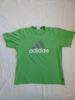 Adidas Sports Shirt green cotton