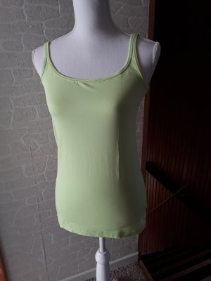 1982 Strappy Top pale green cotton