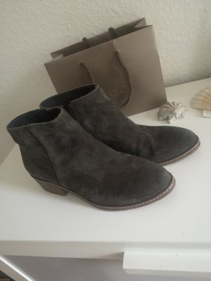 Tamaris Chelsea Boot gris-gris vert cuir