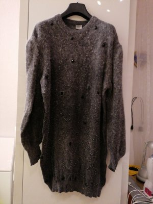 Jersey largo gris-gris oscuro