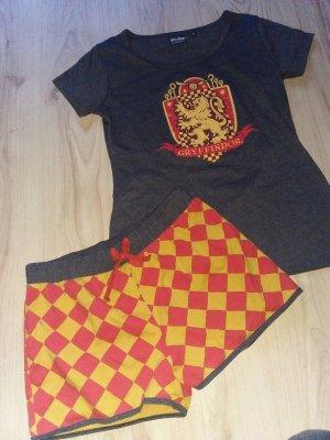 Gryffindor Harry Potter Pyjama Sommer Kurzschlafanzug 36 1x angehabt und gewaschen
