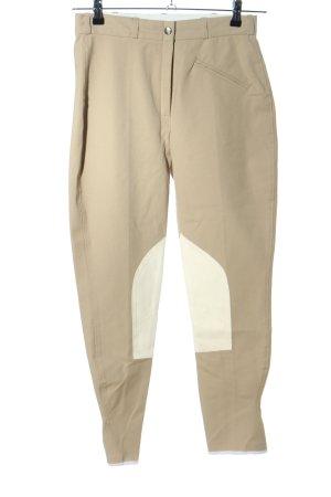 Pantalone da equitazione crema stile da moda di strada