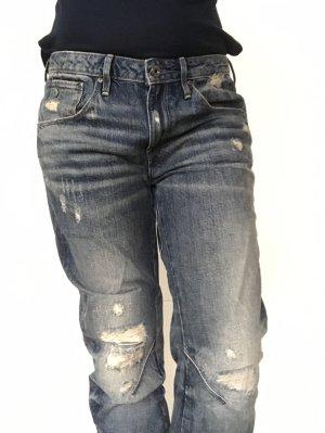 GStar - 3D Low Boyfriend 7/8 Jeans, 28W/32L, Neu