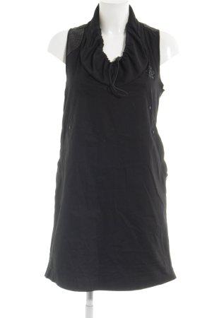 Gstar A-Linien Kleid schwarz Casual-Look
