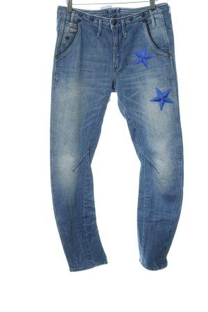 Gstar Jeans da motociclista blu fiordaliso Stile ciclista