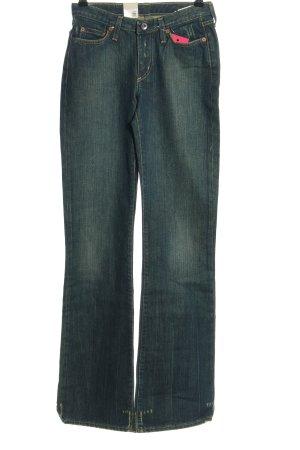 Gstar Boot Cut Jeans blau Casual-Look