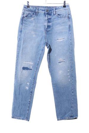 Gstar Boyfriend jeans blauw casual uitstraling
