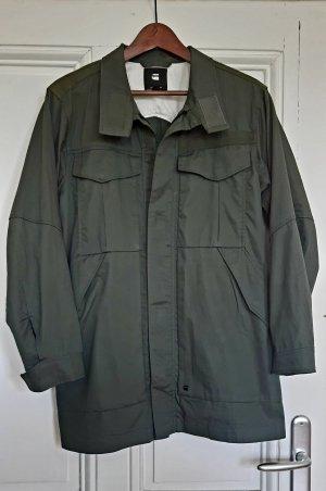 Gstar Deline PST XL Field Jacket in Khaki Grün