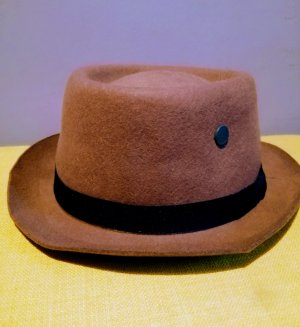 Gstar Cappello Trilby marrone chiaro