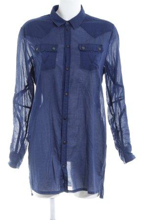 Gstar Hemd-Bluse dunkelblau Casual-Look