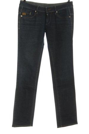 Gstar Jeansy biodrówki niebieski W stylu casual