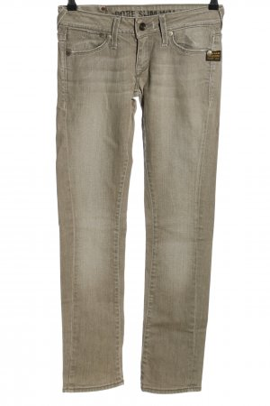 Gstar Low Rise Jeans natural white casual look