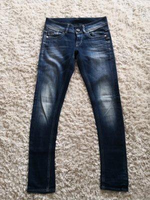 Gstar Jeans vita bassa blu scuro-azzurro