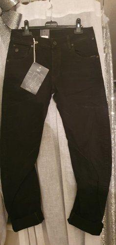 Gstar Luźne spodnie czarny