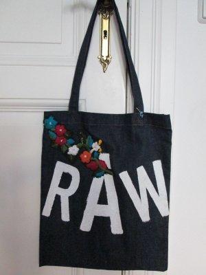 GStar Jeansbeutel Shopper mit Blüten