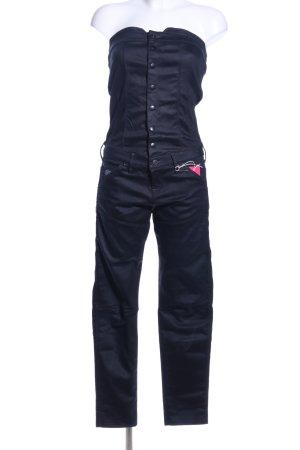 Gstar Jumpsuit schwarz Business-Look