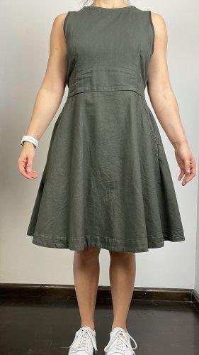 Gstar Kleid Gr. M (38) dunkelgrünes dünnes Jeamskleid