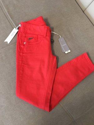 Gstar RAW Jeans Größe 26/70 Rot Lynn Skinny Ankle