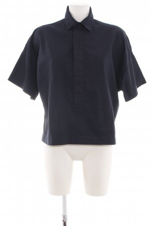 Gstar Schlupf-Bluse blau Casual-Look