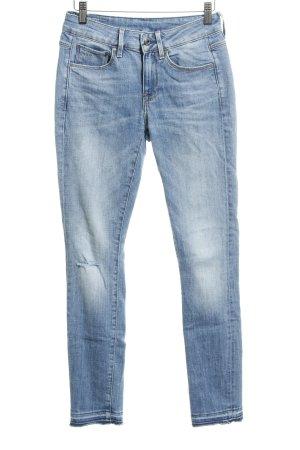 Gstar Skinny Jeans himmelblau Casual-Look