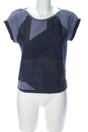Gstar T-Shirt abstraktes Muster Casual-Look