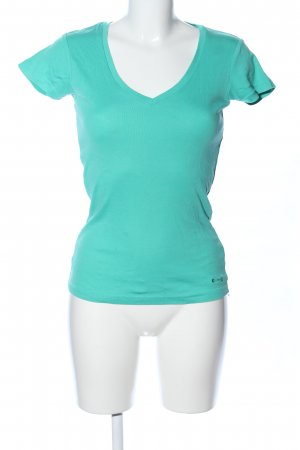 Gstar T-Shirt türkis Casual-Look