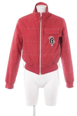 Gsus Bomber Jacket dark red