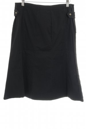 Gsus Cargo Skirt black mixed pattern casual look