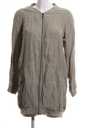 Gsus Long Jacket brown casual look
