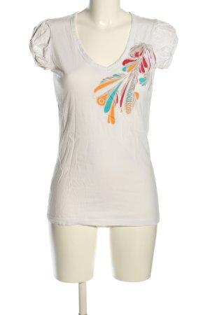 gsus sindustries Print-Shirt abstraktes Muster Casual-Look