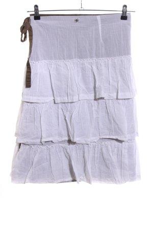 Gsus Wraparound Skirt white-brown casual look