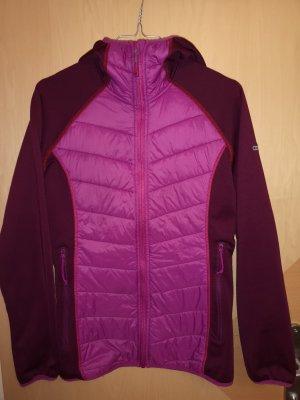 GTS Veste à capuche brun pourpre-violet