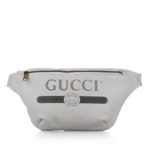 Gucci Marsupio bianco Pelle