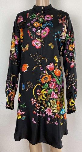 Gucci, 80's Bouquet Silk Tunic, 38 (It. 42), neu, € 1.700,-