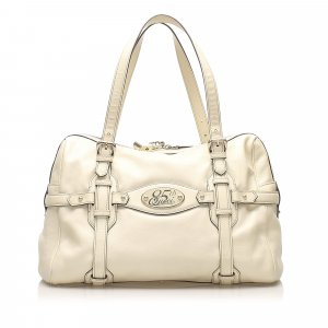 Gucci 85th Anniversary Leather Shoulder Bag