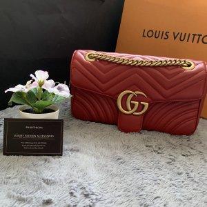 Gucci Étui pour téléphone portable rouge-doré