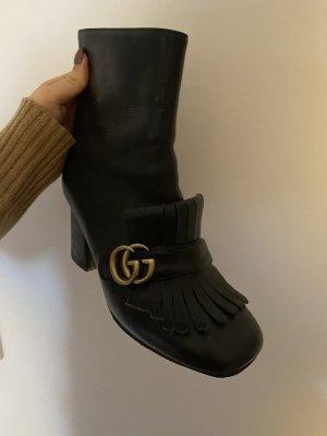 Gucci Buty na obcasie czarny