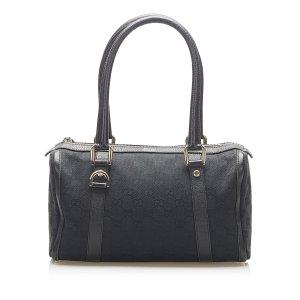 Gucci Abbey GG Canvas Boston Bag