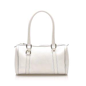 Gucci Abbey Leather Boston Bag
