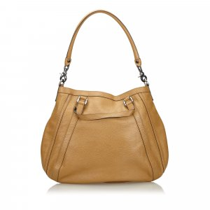 Gucci Abbey Leather Handbag
