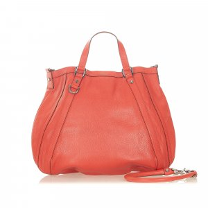 Gucci Abbey Leather Satchel